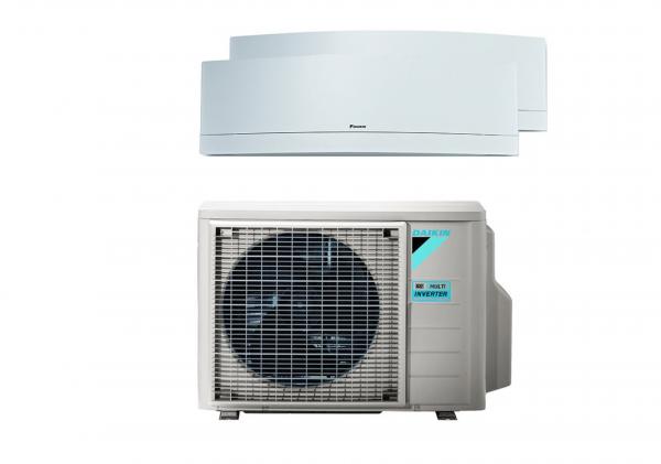 Daikin Emura Multisplit Klima-Set 2 x 3,5 kW Duo Set mit WIFI R32
