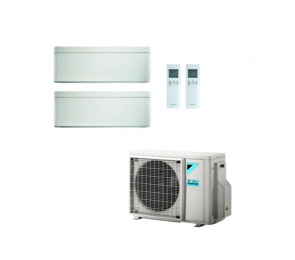 Daikin Stylish 2-Raum Klima-Set weiß mit je 2,5kW Incl. WIFI R32